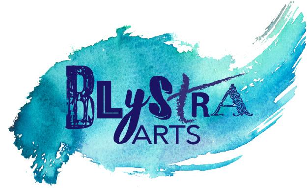 Blystra Logo White